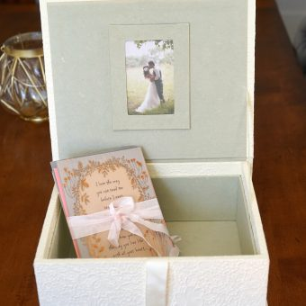 Wedding Card Keepsake MailBox 3