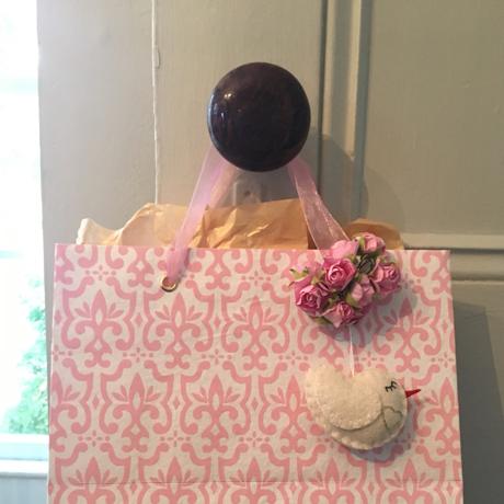 Handmade Felt Sweetheart Dove 2