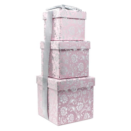 Narcissus Blossoms – 3 Piece Nested Gift Box Set