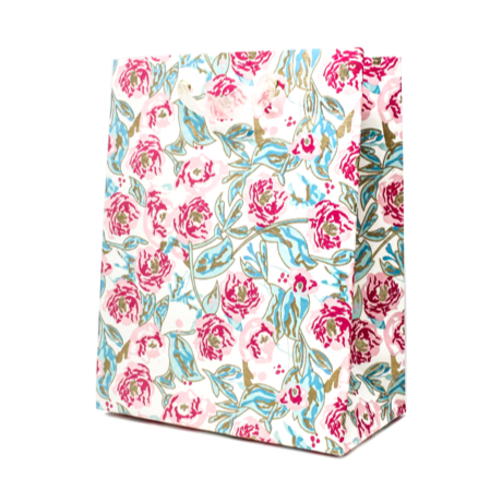 Peonies in Bloom – Classic Cub Gift Bag 3