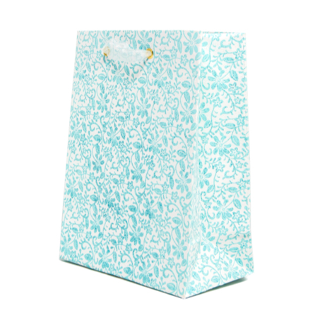Turquoise Garden – Classic Cub Gift Bag 3