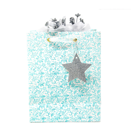 Turquoise Garden – Classic Cub Gift Bag