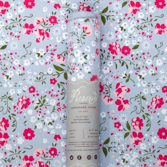 Floral Spray – Rolled Wrapping Sheets 2