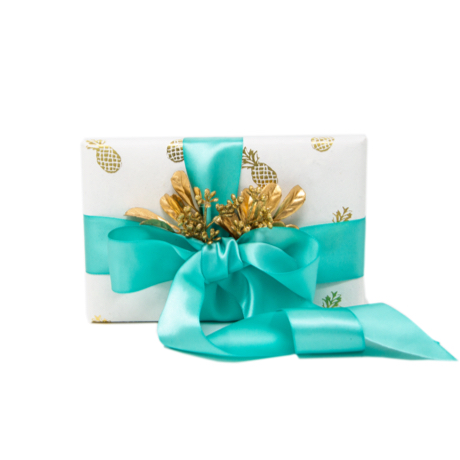 Golden Pineapple – Rolled Wrapping Sheets
