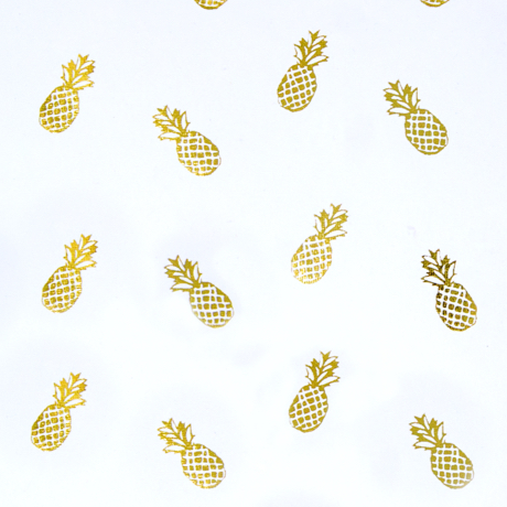 Golden Pineapple – Rolled Wrapping Sheets 3
