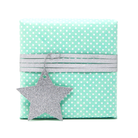 Sea the Dots – Rolled Wrapping Sheets