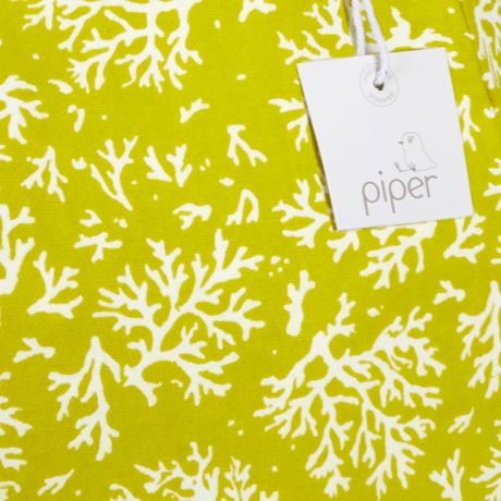 Piper Bucket Tote Coral, Limeade 3