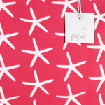 Piper Resort Tote Starfish, Hot Pink 3
