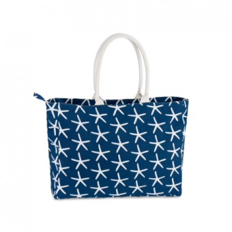 Piper Resort Tote Starfish, Midnight Blue