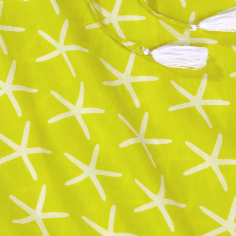 St John Starfish Tunic, Limeade 2
