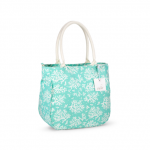 Piper Bucket Tote Coral, Bevelled Glass 2