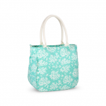 Piper Bucket Tote Coral, Bevelled Glass
