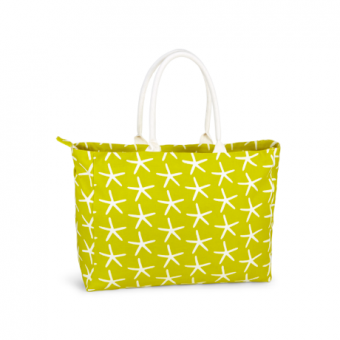 Piper Resort Tote Starfish, Limeade