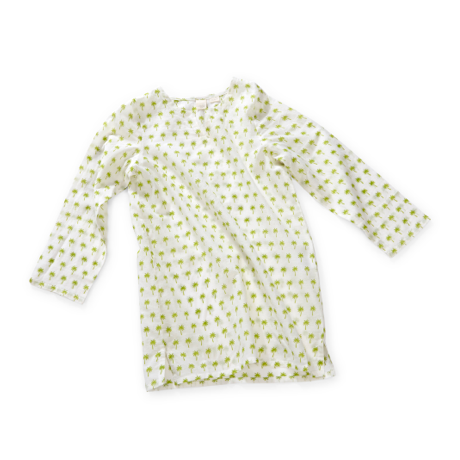 Wee Piper Palm Tunic, Limeade