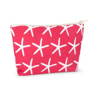 Piper Cosmetics Pouch Starfish, Hot Pink