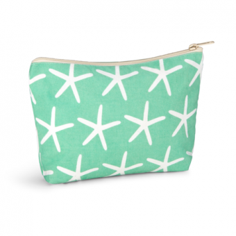 Piper Cosmetics Pouch Starfish, Beach Glass