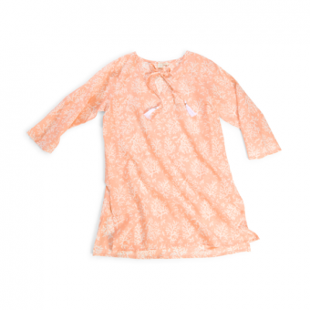 Turks and Caicos Coral Tunic, Coral