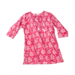 Turks and Caicos Coral Tunic, Hot Pink