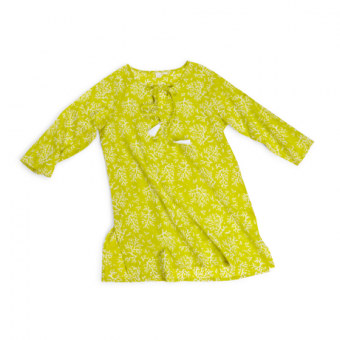 Turks and Caicos Coral Tunic, Limeade