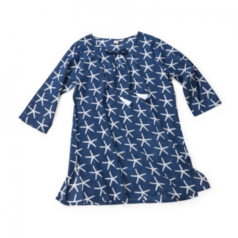 St John Starfish Tunic, Midnight Blue