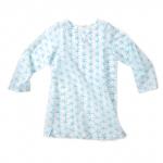 Wee Piper Starfish Tunic, Bleached Aqua