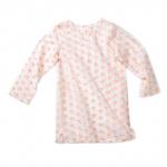 Wee Piper Starfish Tunic, Pink Dogwood