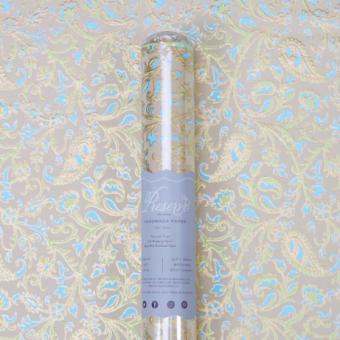 Paisley Azure Gift Wrap
