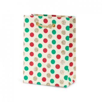 Petite Gift Bag – Multi Dot