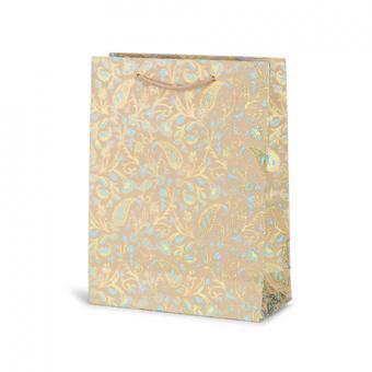 Large Cub Gift Bag – Paisley Azure