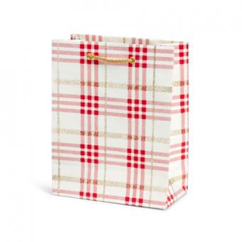 Classic Cub Gift Bag – Red Plaid