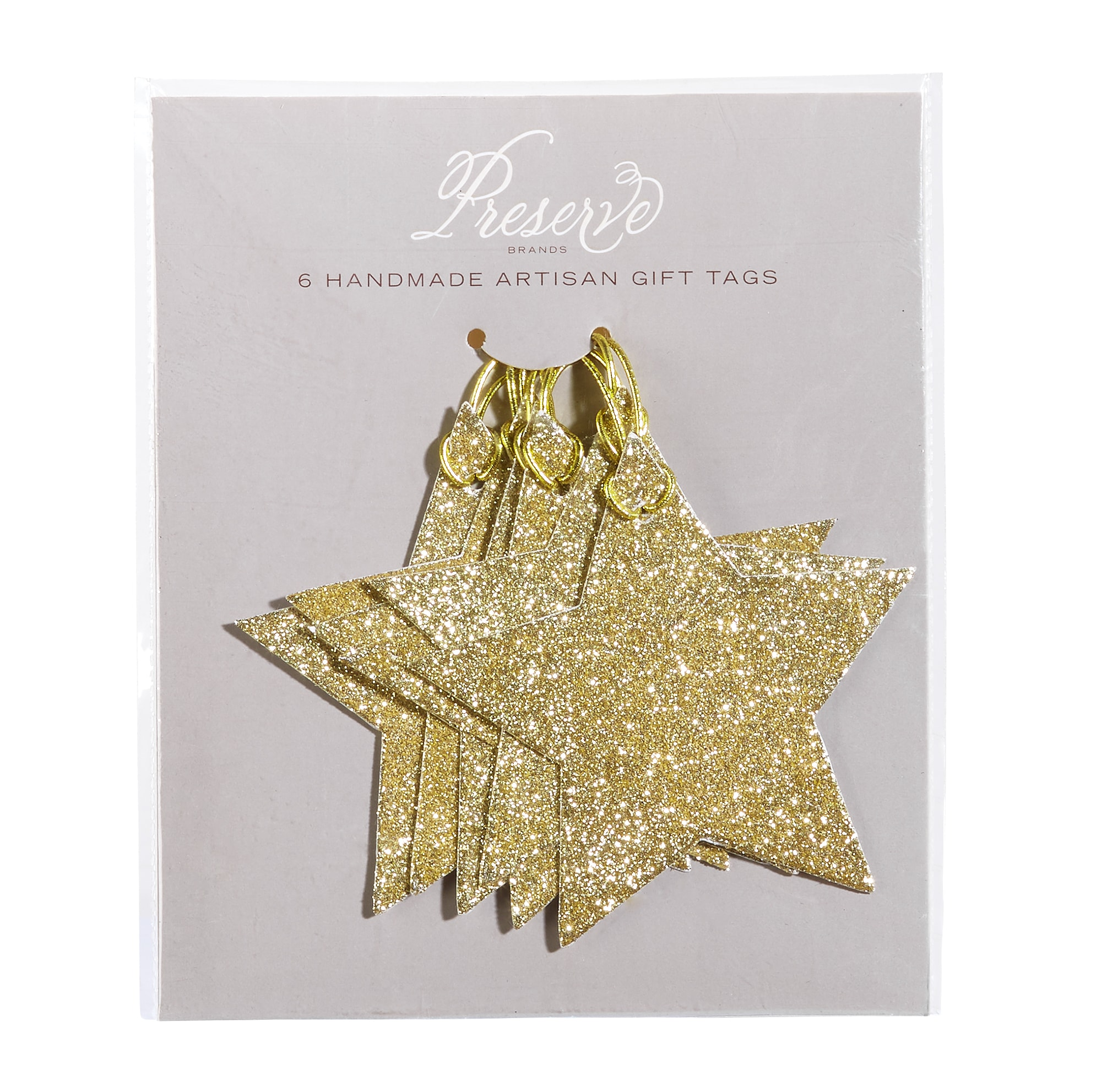 Gold Star Pack of 6