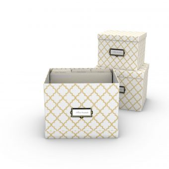 Wordspace - White Box 3 pc set