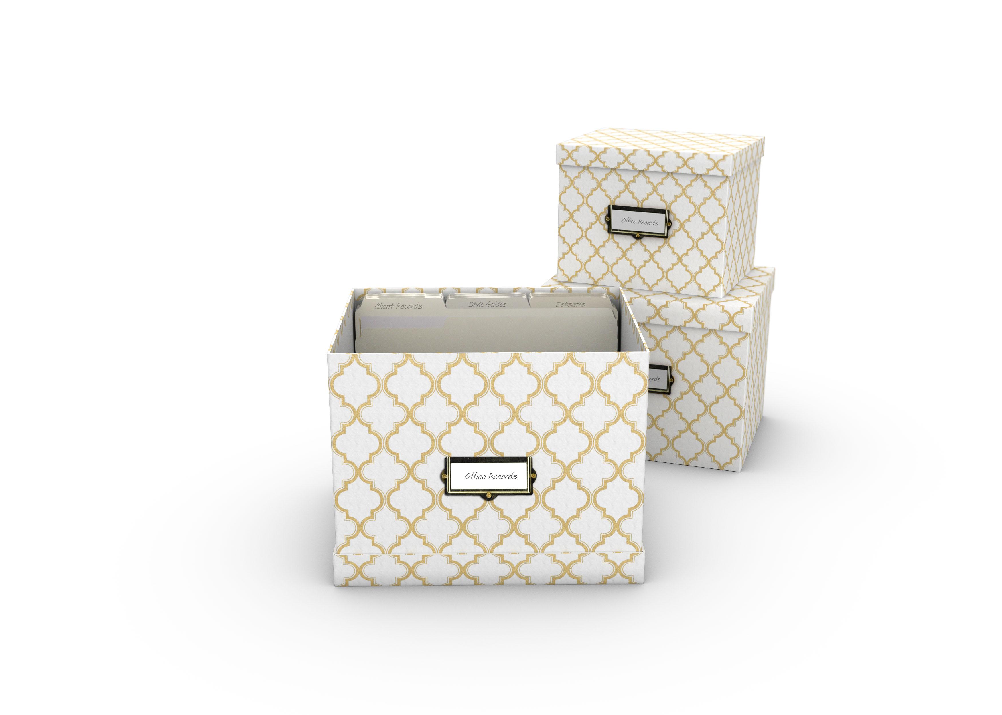 Wordspace - White Box 3 pc set